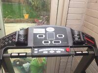 folding horizon treadmill