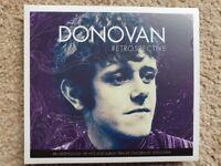 DONOVAN - RETROSPECTIVE - Double CD (New) Plus Signed Photo.