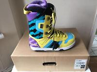 Bonfire freestyle snowboard boots size 9uk