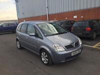 2005 Vauxhall Meriva 1,6 litre 5dr 12 months mot