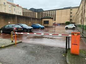 Private gated car parking within a secure car park on Cleveland Street