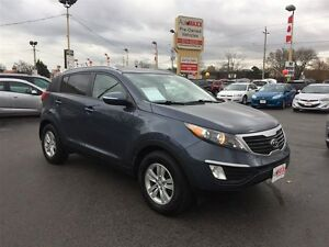 2012 KIA SPORTAGE LX- BLUETOOTH, SATELLITE RADIO, HEATED SEATS,
