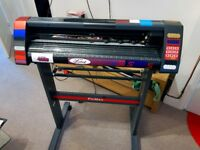 "Pixmax MH721 28"" Vinyl Cutter with Stand and loads of extras! Just Serviced"