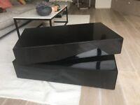 Black (High Gloss) Designer Coffee Table