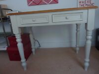 Pavillion Grey Painted Desk with Drawers