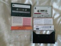 Cassette tapes TDK made in Japan