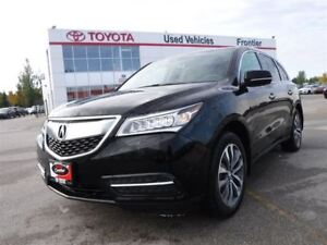 2016 Acura MDX Navi Package Local AWD\Leather Htd Sts\Sunroof