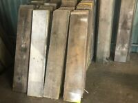 Used and new scaffold boards