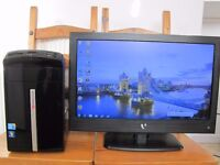 PACKARD BELL DESKTTOP INTEL CORE i5 3,2GHz MONITOR TV LED 22 IN HDMI
