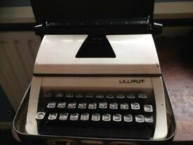 1970s childs lillput typewriter