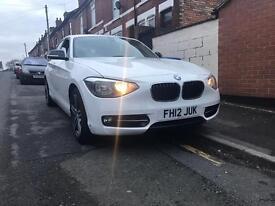 BMW 116D 2.0 DIESEL SPORT WHITE 5