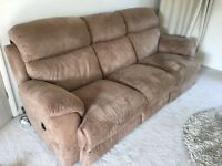 Electric recliner Sofa 3 Seater and 2 Seater