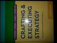 Crafting and Executing Strategy Textbook