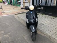 PIAGGIO VESPA LX 125cc ie 3v black 2012 excellent runner