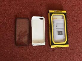 iPhone 5 charger and cover