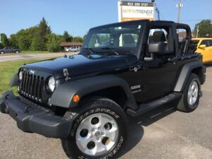 2014 Jeep Wrangler Sport 2-Sport 4x4 Soft Top with Air, Alloy...