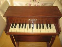 Child's Piano , 30 keys, made by Schoenhut,