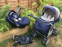 Silver cross buggy travel system with car seat and isofix