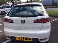 Seat Ibiza 1.4 sportrider for sale. 42,864 miles 08 plate