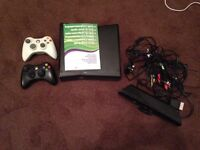 Xbox 360, 2 controllers, Kinect and 26 games