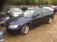 2002 Honda Accord 1.8 petrol sport long mot
