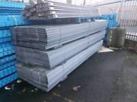 Plastic scaffolding board