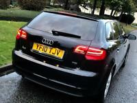 Audi A3 1.6 Tdi Diesel Economy 2010 £20 Tax/Year, Stop/Start, 60+ MPG, Like Yaris, VW Golf, Audi A4