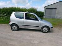 2003 fiat seicento 1.1 petrol 12 months mot good runner grab a bargain ideal first car .