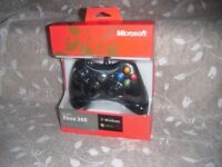 Official Xbox 360 & PC Microsoft Wired Controller New and Sealed.