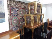beautiful set french coffee table with three nest of table. very strong.