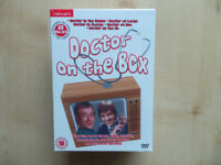 DOCTOR ON THE BOX - 20-DISC DVD BOX SET NEW & SEALED AT SEA AT LARGE ON THE GO
