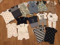 Baby boys summer bundle (0-3Months)
