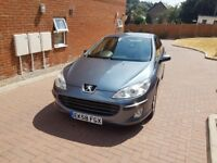 2008 peugeot 407 1.6 hdi diesel saloon, hpi clear, good engine and gearbox