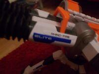 large electronic nerf gun