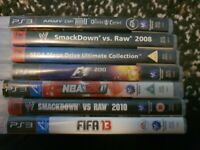 PS3 Games Bundle - 1 broken box