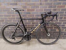 Teschner Euro Star Easton SC7000 Scandium/Carbon 57cm Road bike.M/L size.20speeds.Shimano105,Cinelli
