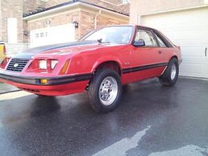 Strip and Street 1983 Mustang GT