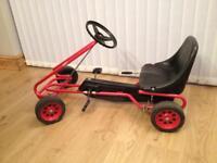 Vintage child's Kettler go cart