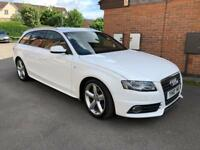 2010 AUDI A4 AVANT S LINE SPECIAL EDITION+LADY OWNER+FULL AUDI DEALER SERVICE HISTORY+VERY CLEAN CAR