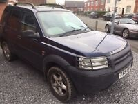 FREELANDER DIESEL 2.0 DGS 5 DOOR WITH LEATHER 51 REG IN BLUE SERVICE HISTORY AND MOT NOV 07867955762