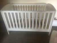 Cot and changing table