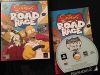 Ps2 Simpson road rage
