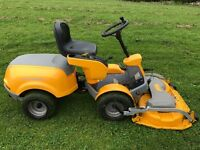 Stiga Park Comfort Combi 105 Ride On Lawn Mower Mulching Out-front Deck
