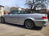 BMW 330 convertible top of the range leather seats.long MOT