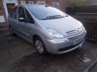 2008 CITROEN XSARA PICASSO..1.6 DEISEL..CLEAN CAR
