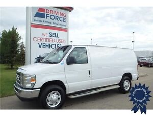 2013 Ford E250 Cargo Van RWD w/Anti-Theft System, 55,122 KMs