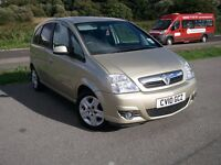 VAUXHALL MERIVA 1.6L PETROL-12 MONTH MOT ON SALE-LOW MILES-PREVIOUS CAT D
