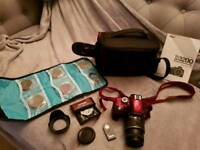 Nikon D3200 Digital Camera plus extras