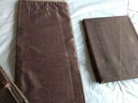 """New curtains width: 66""""/168cm drop: 72""""/183cm"""