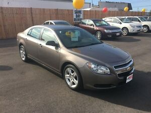 2011 CHEVROLET MALIBU LS - BLUETOOTH, ONSTAR, CRUISE, A/C, POWER